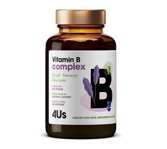HealthLabs – Vitamin B complex – Kompleks witamin z grupy B, 60 kapsułek