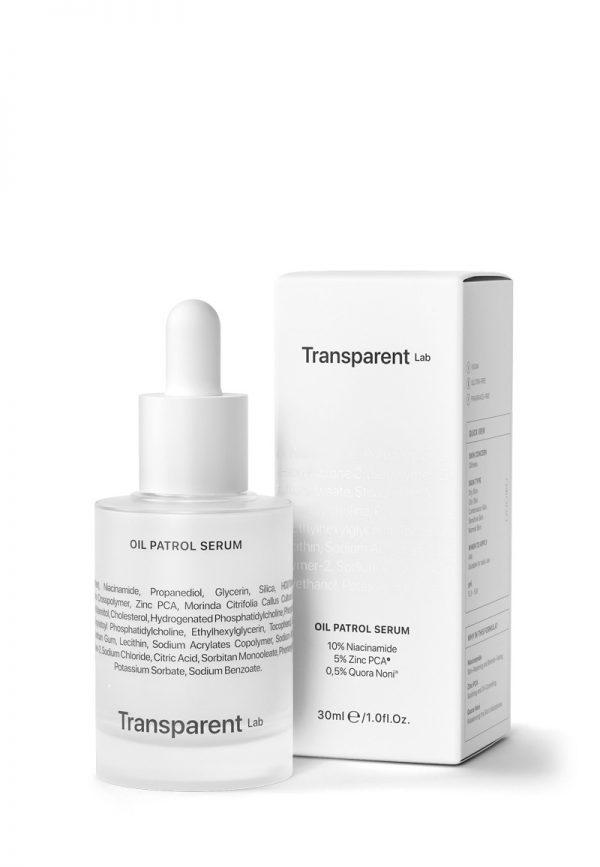 Transparent Lab serum matujące