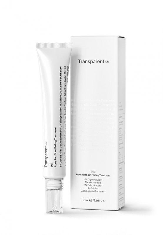 Transparent Lab – PIE Acne Red Spot Fading Treatment – Kuracja na przebarwienia pozapalne, 30ml