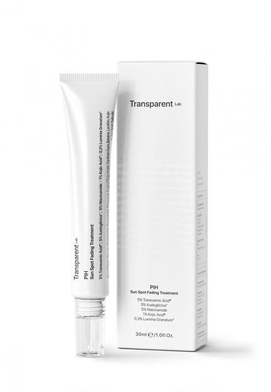 Transparent Lab – PIH Sun Spot Fading Treatment – Kuracja na przebarwienia związane z nadprodukcją melaniny, 30ml