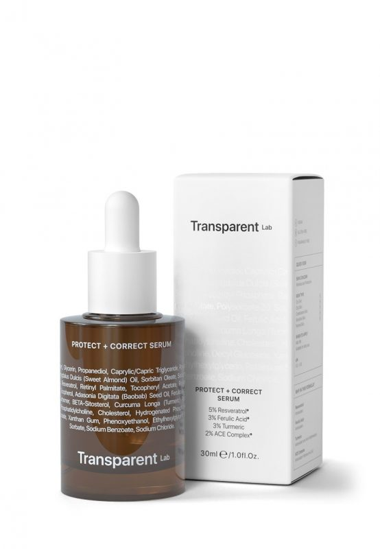 Transparent Lab – Protect + Correct Serum – Serum przeciwstarzeniowe pełne witamin, 30ml