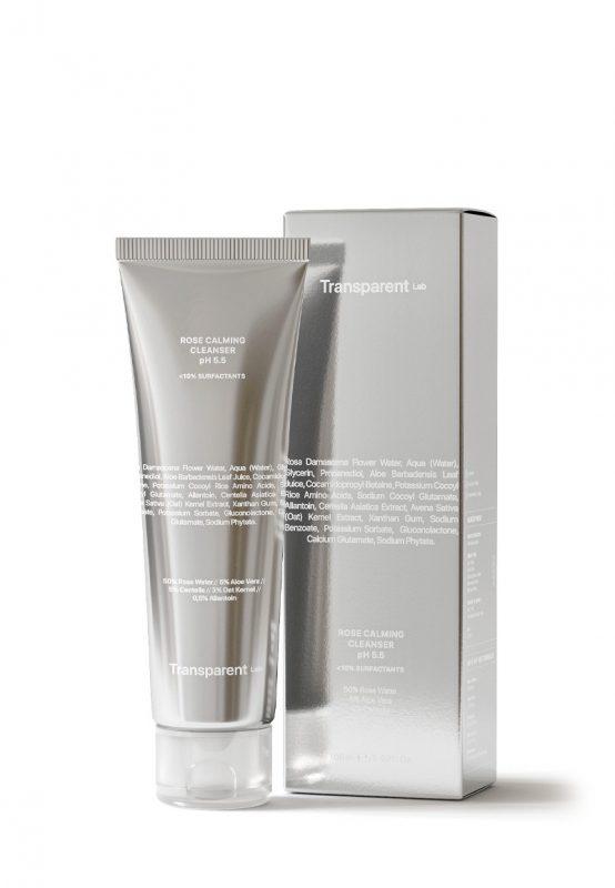 Transparent Lab – Rose Calming Cleanser pH 5.5 – Delikatny różany żel do mycia twarzy, 150ml