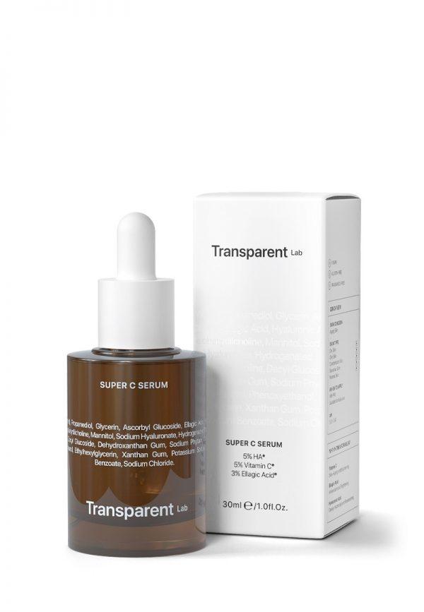 Transparent lab super c serum