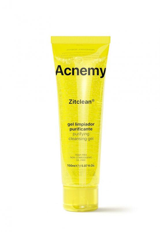 Acnemy – Zitclean – Żel do mycia twarzy dla skór tłustych, trądzikowych, 150ml