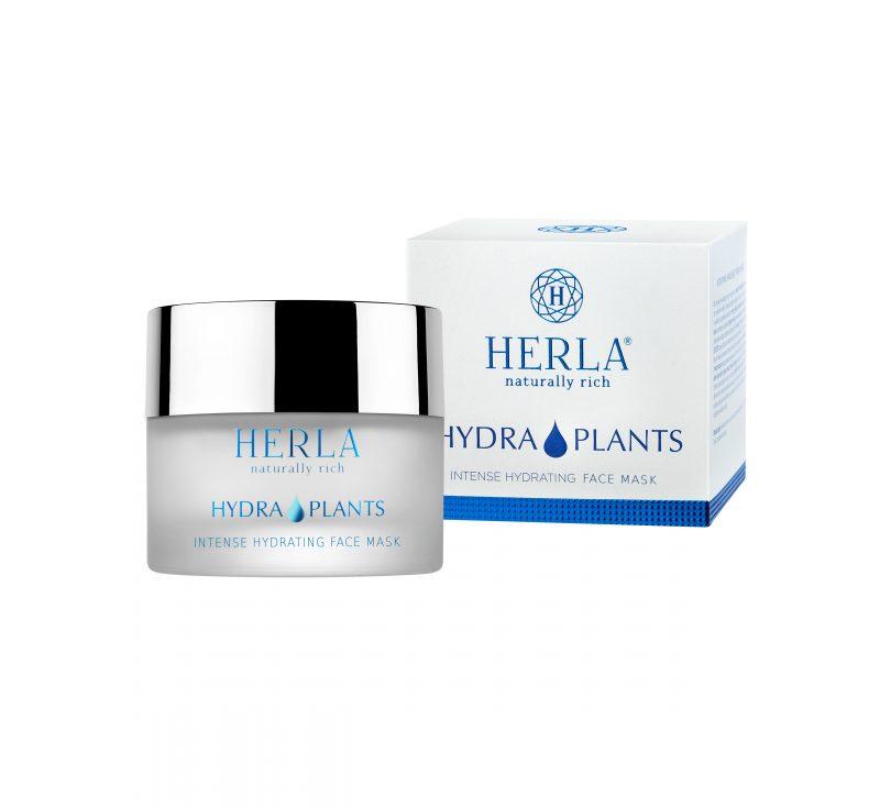 Herla – HYDRA PLANTS Intense HydratingFace Mask – Intensywnie nawilżająca maska do twarzy, 50ml