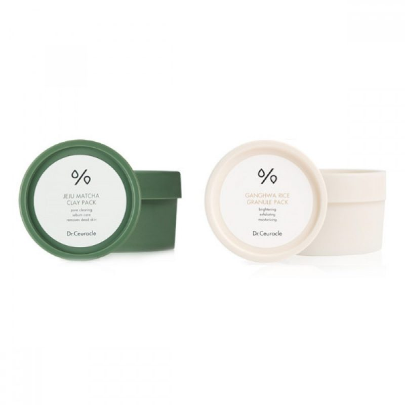 Dr.Ceuracle – ZESTAW Matcha & Rice Wash-Off Pack Duo