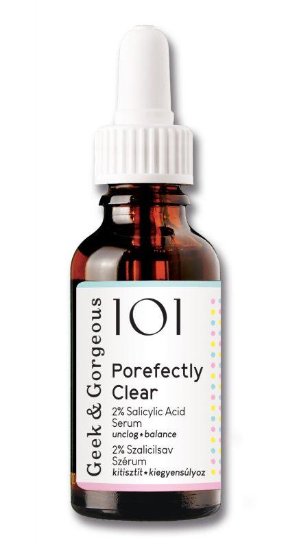 Geek and Gorgeous – Porefectly Clear – Serum oczyszczające pory z 2% Kwasem Salicylowym, 30ml