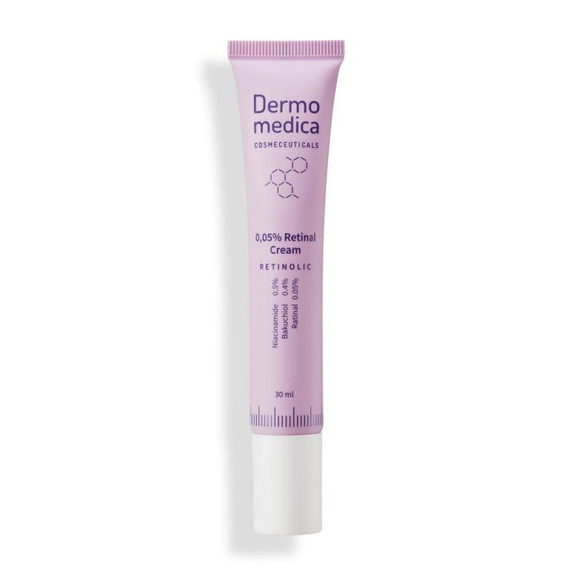Dermomedica – 0.05% Retinal Cream – Krem przeciwstarzeniowy z retinalem, 30ml