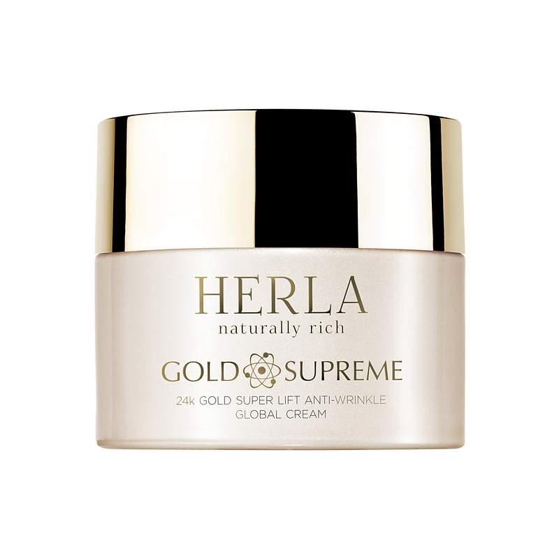 Herla – GOLD SUPREME – 24k Złoto Globalny Liftingujący Krem Przeciwzmarszczkowy, 50ml