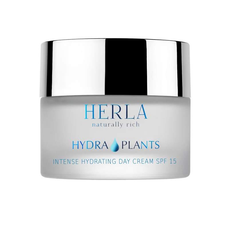 Herla – HYDRA PLANTS – Intense hydrating day cream spf 15 Intensywnie nawilżający krem na dzień SPF15, 50ml