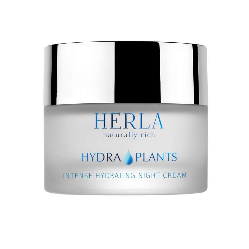 Herla – HYDRA PLANTS – Intense hydrating night cream Intensywnie nawilżający krem na noc, 50ml