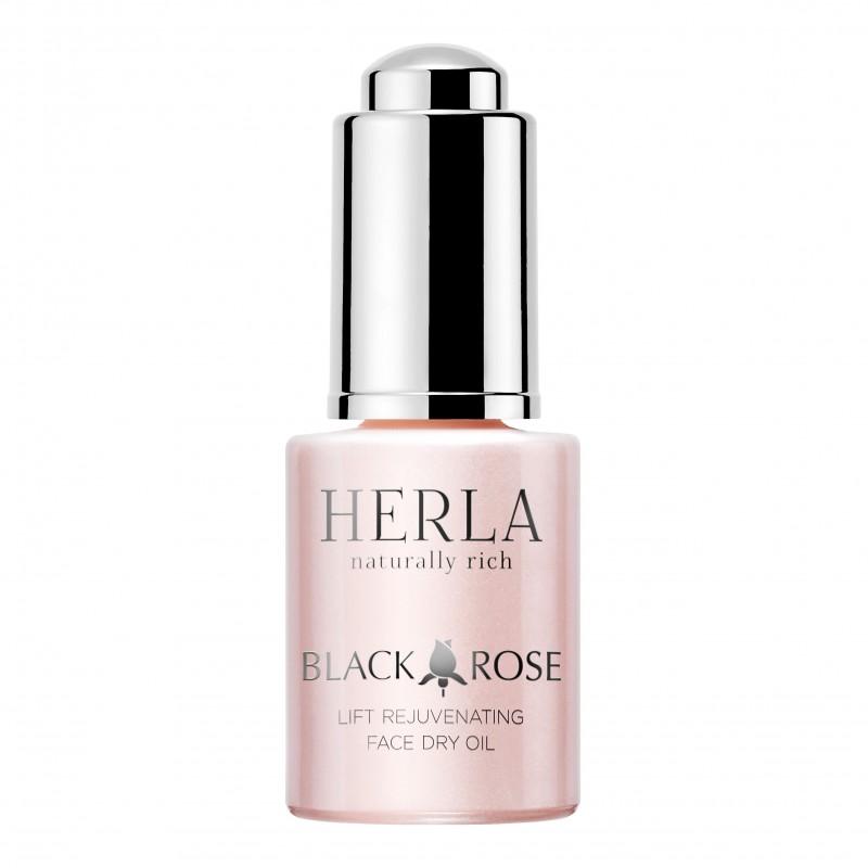 Herla – BLACK ROSE – Odmładzający Suchy Olejek Liftingujący do Twarzy, 15ml