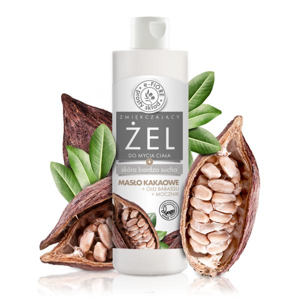 Efiore zel z maslem kakaowym do mycia